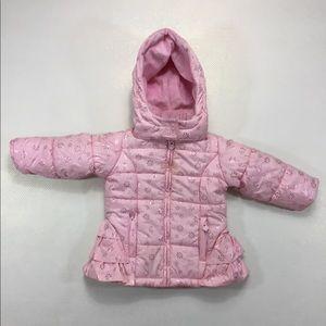 OshKosh B'Gosh Baby Girl Hooded Puffy Jacket 18M